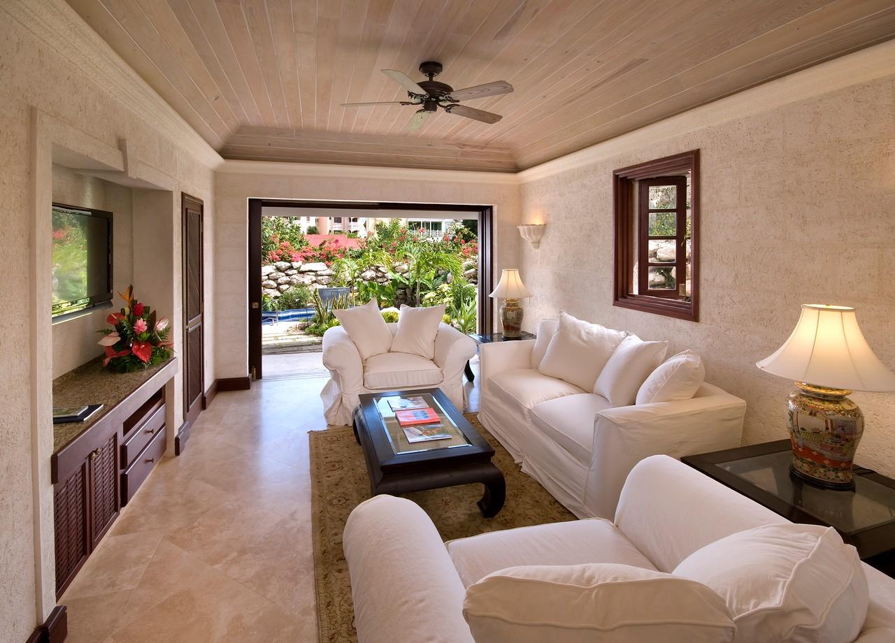2BR Deluxe Garden Pool - Living Room-X2