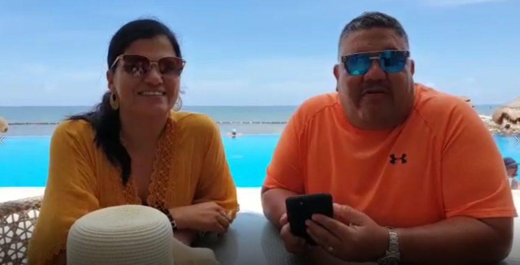 Miguel Lozano y Rocio Rios de Monterrey NL
