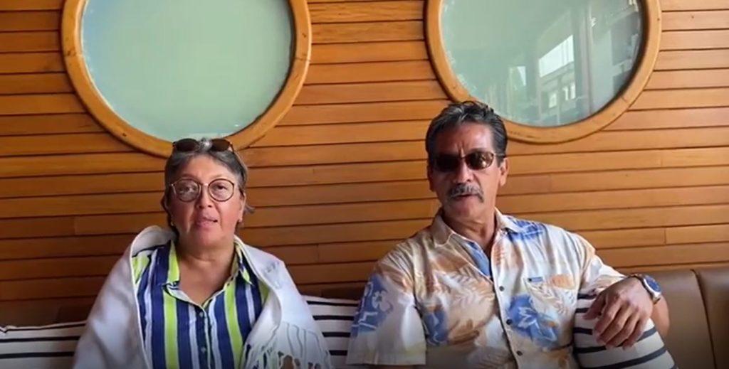 Socios desde el 2000 Raul y Sofia Correa en La Marina Mazatlan