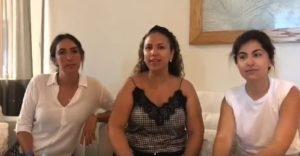 Amy Parraga y amistades comparten sus experiencias