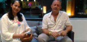 Cecilia y Jorge Garcia exploran Cozumel