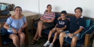 Fam Rodriguez socios desde 1992 disfrutan sus vacaciones en El Cid El Moro en Mazatlan