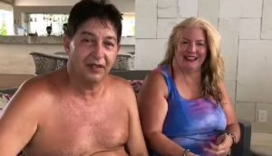 Michael Petrini & Sandra socios disfrutan sus vacaciones