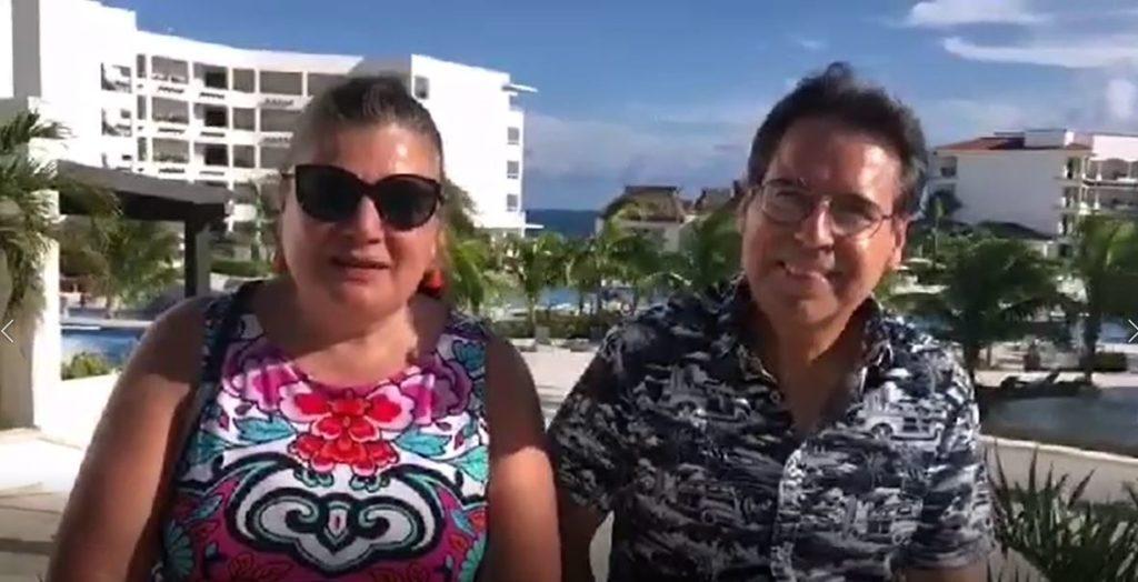 Socios Liz Trevino y Nacho Martinez nos visitan en Puerto Morelos desde Monterrey