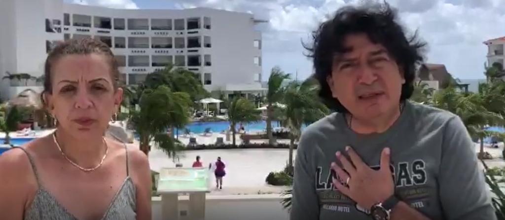 Margarita Rojo y su esposo socios de ECVC platican lo bien que se sintieron y como han disfrutado de sus vacaciones